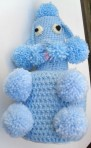 Crochet Poodle Toilet Roll Cover